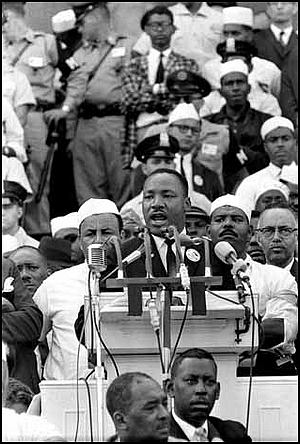 Martin Luther King, Jr  I Have a Dream  Complete text, audio file