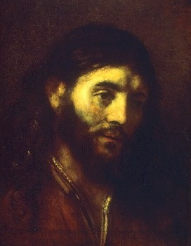 the face of jesus as rendered by artists in paintings photos