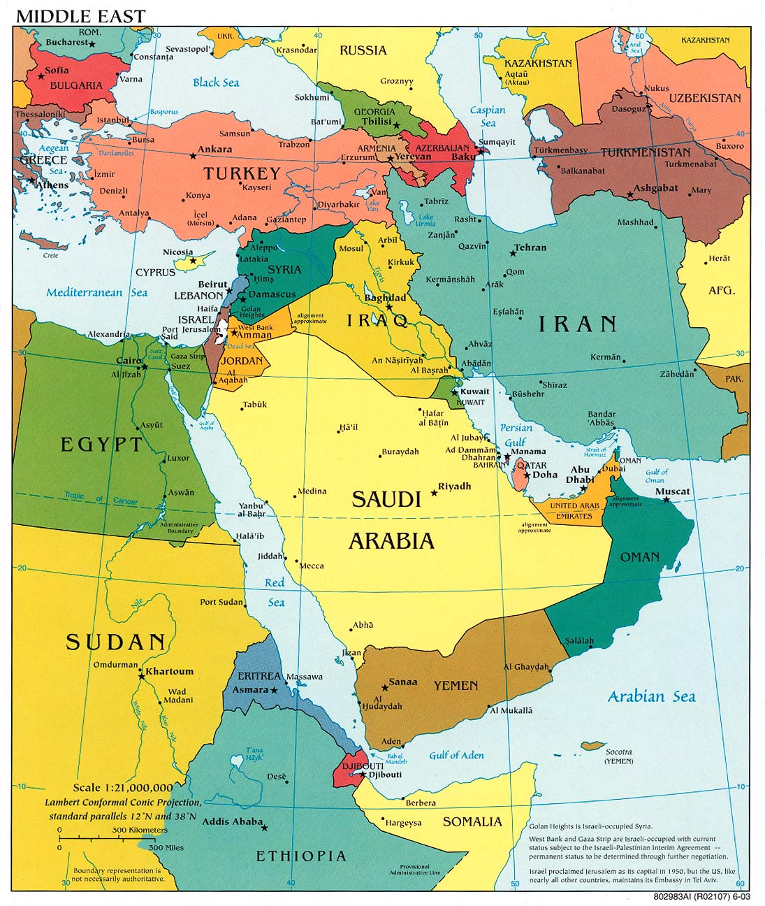 Map Of The Middle East Bible Atlas Online